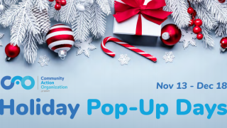 Holiday Pop-Up Days