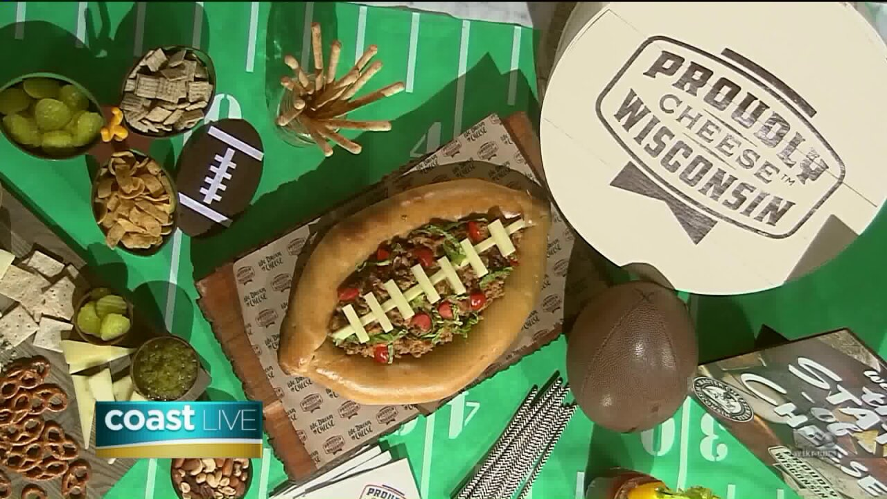 Game day dishes made using award-winning cheese on CoastLive