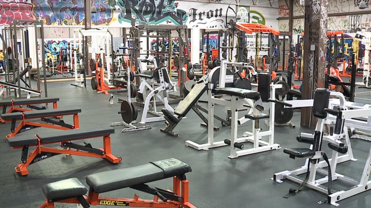 Old School Iron Gym