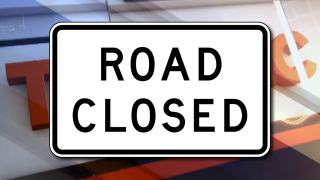 Depression in roadway closes Old Coachman Road