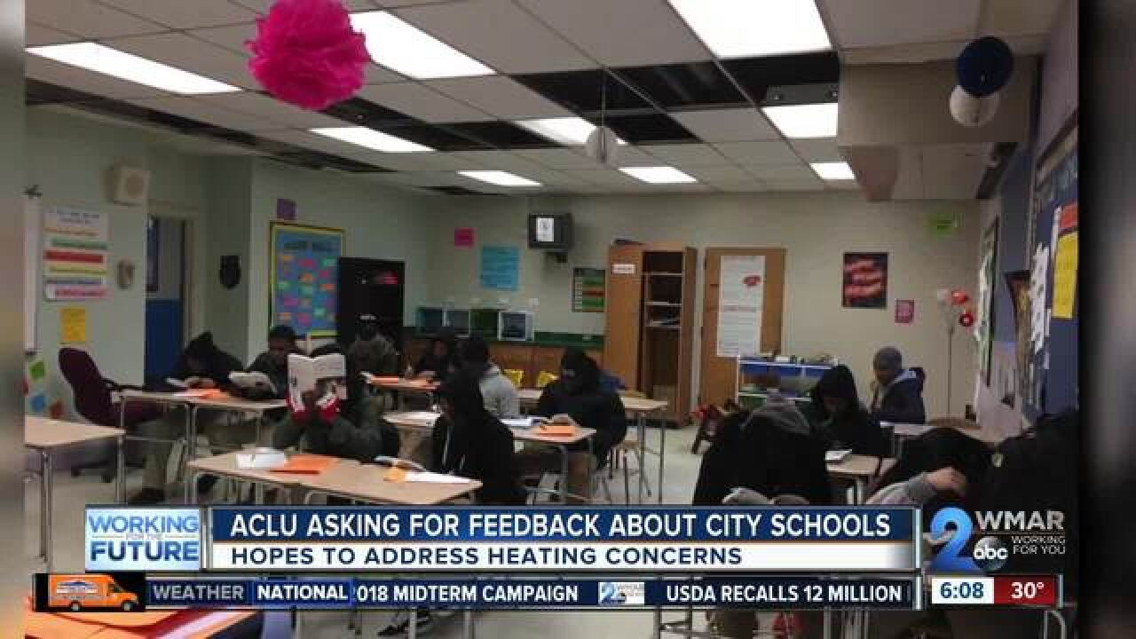 Survey posted to hear city schools' heat issues