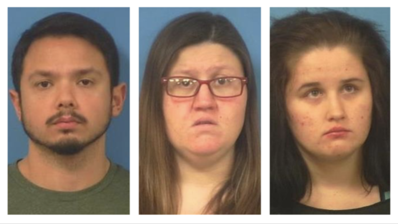3 Pahrump residents arrested after 2 mentally handicapped adults kept captive for months