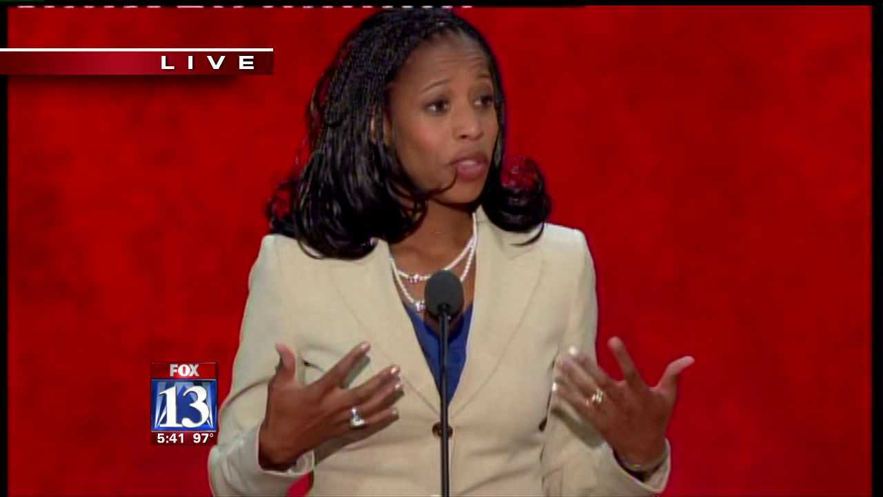 Mia Love's speech gets rallying applause at RNC