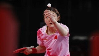 Chen wins all-Chinese women's table tennis final