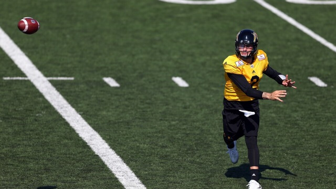 Johnny Manziel stars in Tiger-Cats' preseason finale