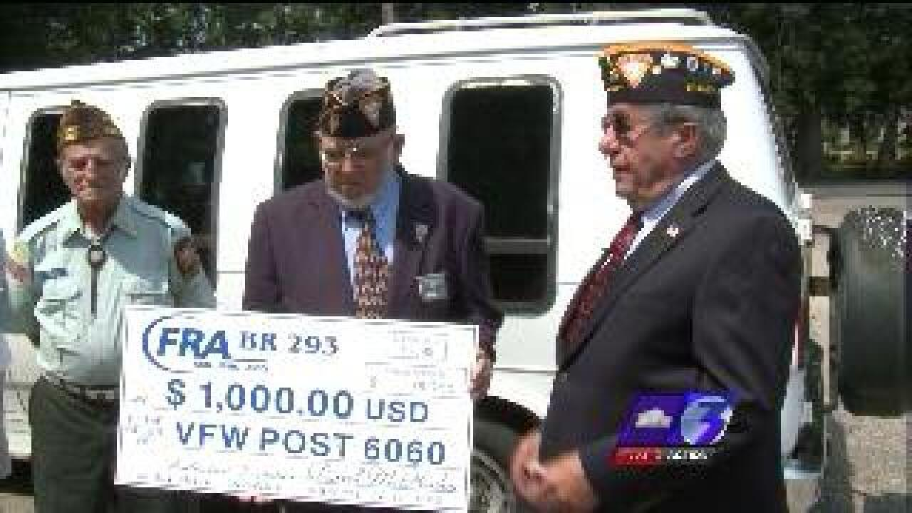 Here's the Good News: Southern Bank donation helps Honor Guard get new van