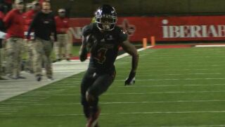 Cajuns' Calais named Offensive Player of the Week