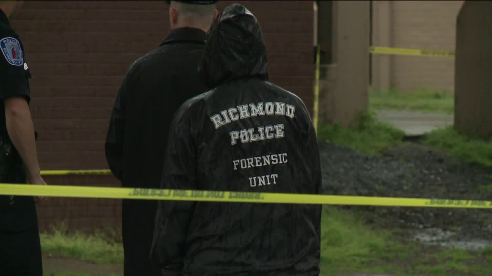 Photos: Four wounded when shots ring out in Richmond's GilpinCourt