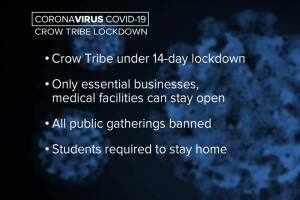 Crow Tribe issues lockdown order