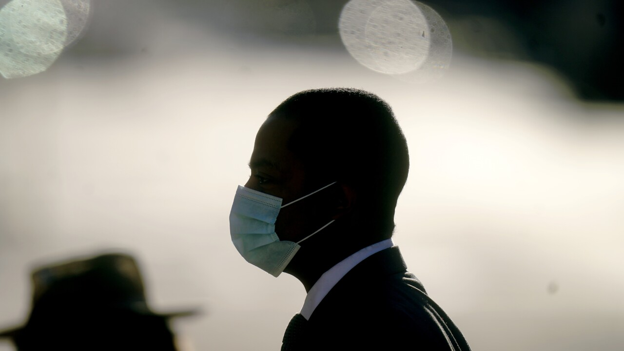 Virus Outbreak Utah Mask