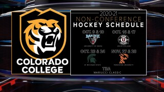 Colorado College non-conference schedule