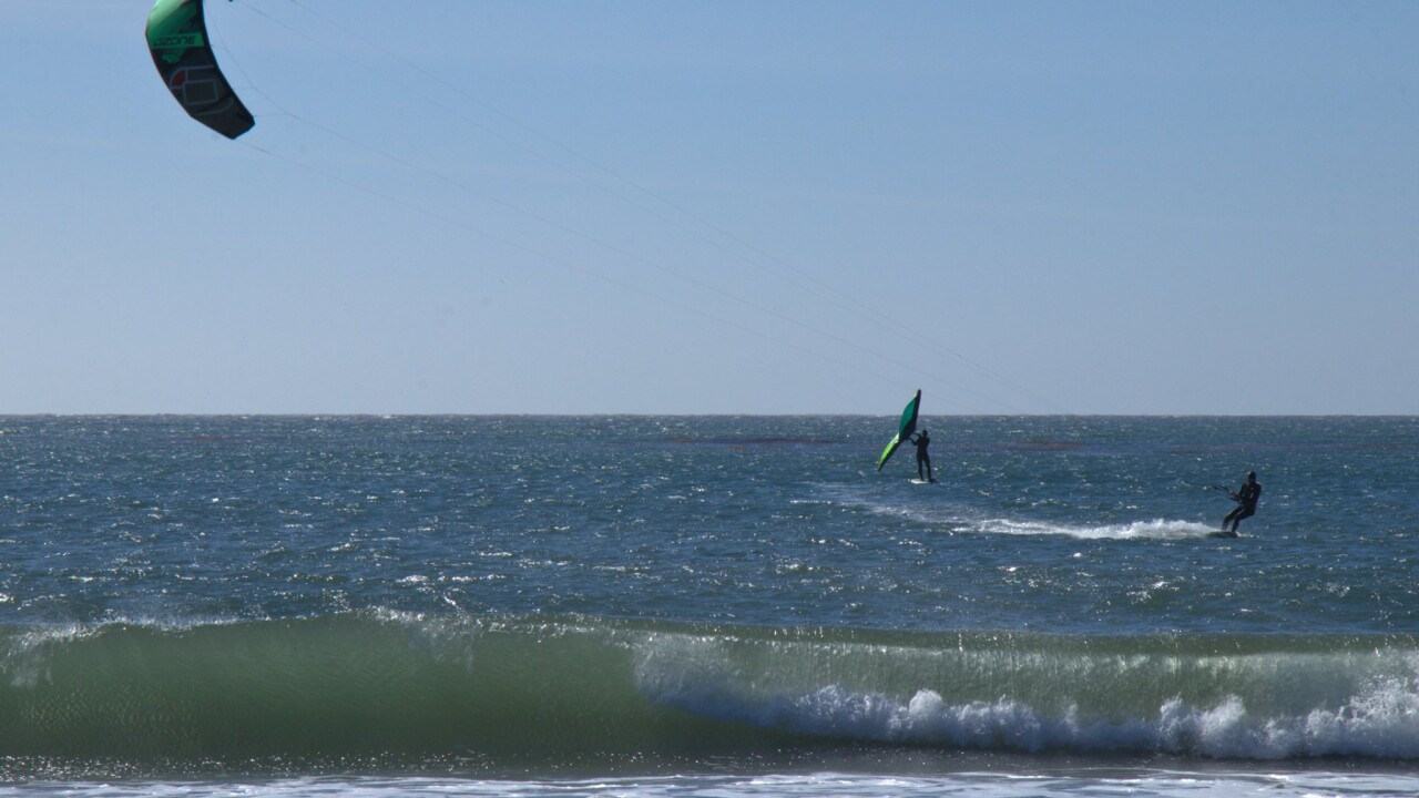 Windsurfing on the Central Coast