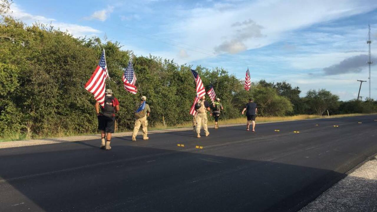 100-mile ruck march