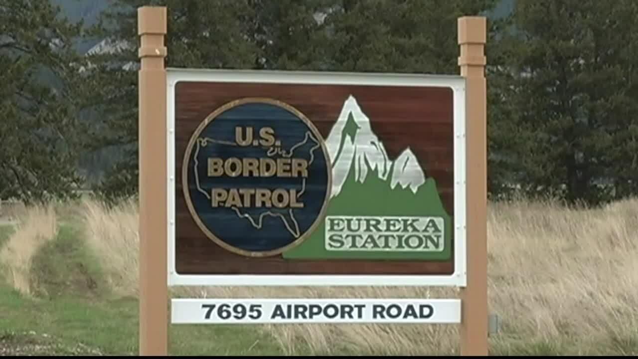 Euereka Border Crossing Station