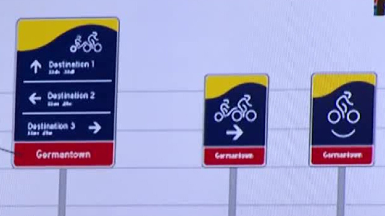 New Bike Signs Could Provide More Info. To Cyclists