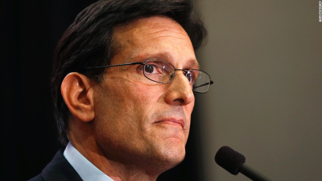 Eric Cantor praises injured Capitol Police officers who kept him safe