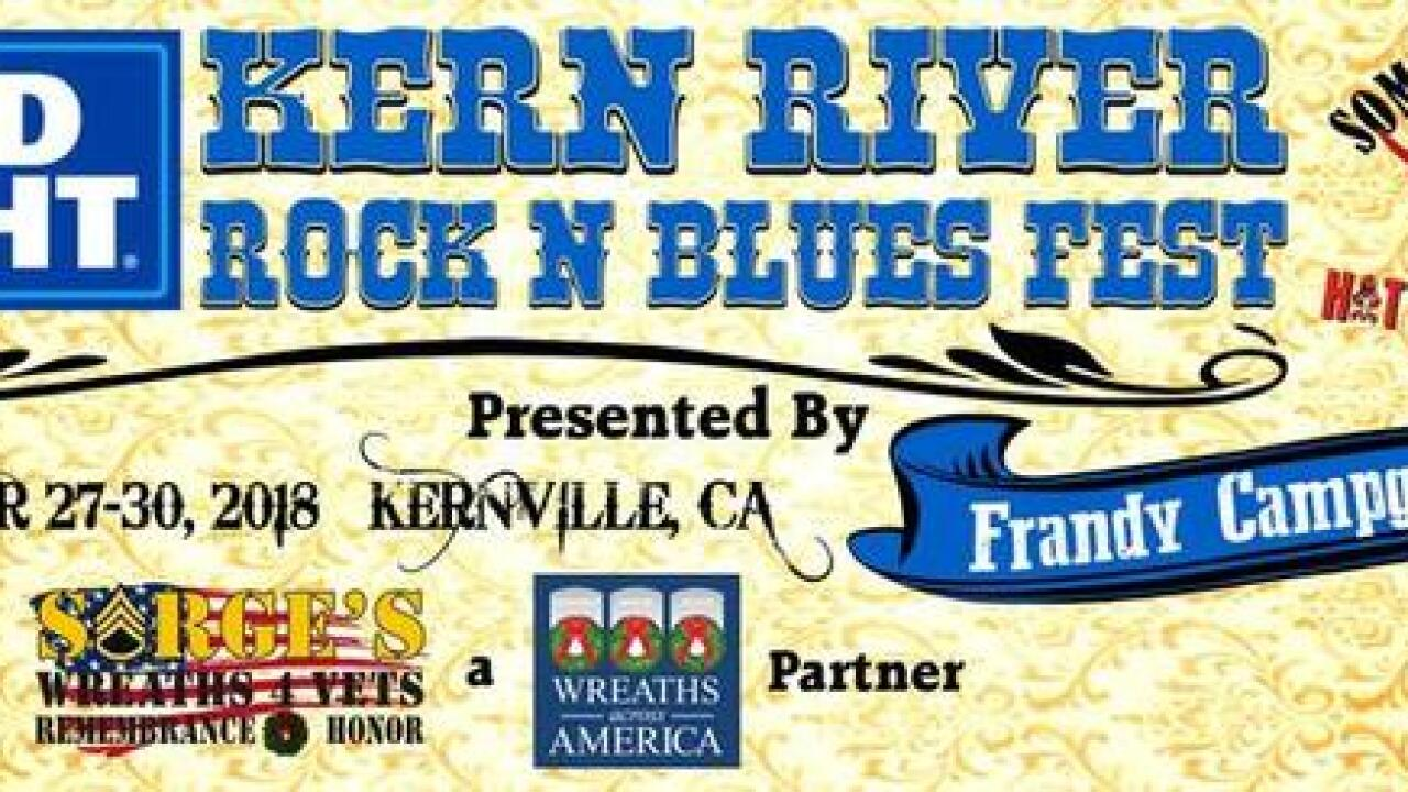 Tonight in Kernville: Kern River 'Rock 'n' Blues' Fest