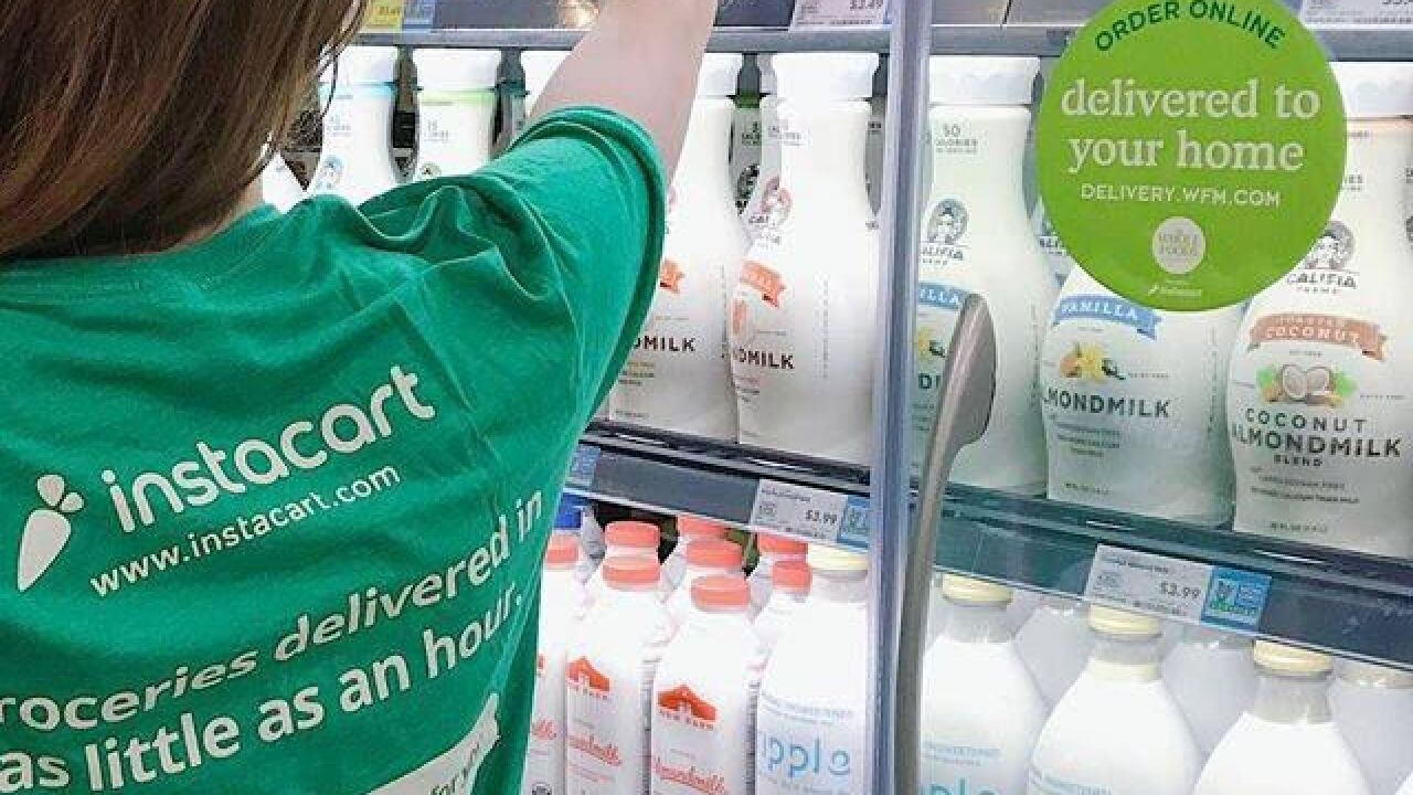 Online grocery delivery service Instacart to add 300,000 full-service contractors