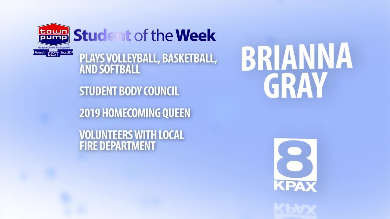 Student of the Week Brianna Gray