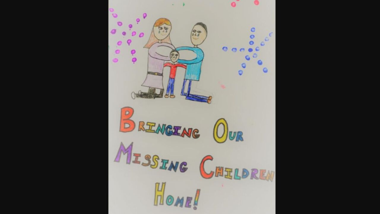 Poster contest for National Missing Children's Day