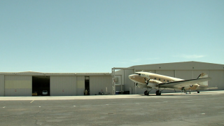 C-47 on display at Falcon Field