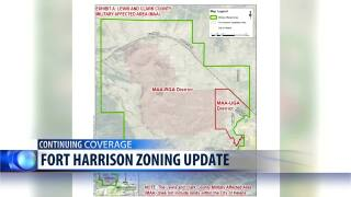 Commission moves forward with new zoning rules for the area around Fort Harrison