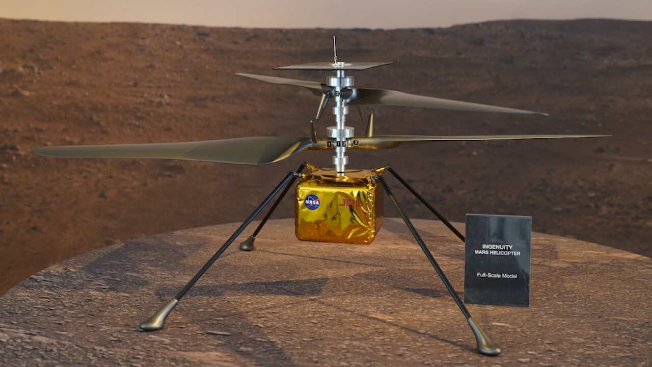 NASA Ingenuity Mars Helicopter