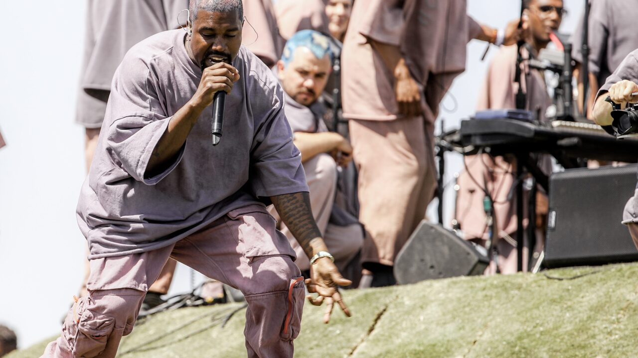 Kanye West dropped a new album on Christmas and called it — what else? — 'Jesus Is Born'