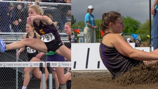 Ashley McElmurry, Lauren Heggen land Missoula Sentinel another track trophy