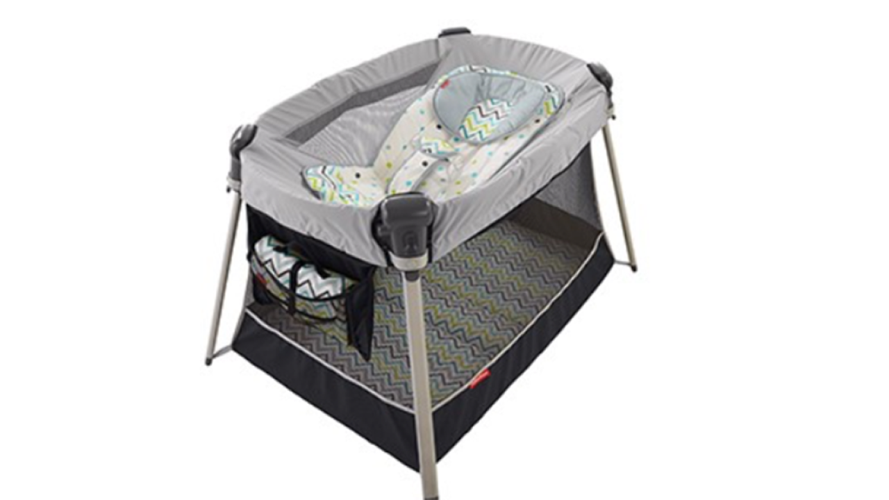 Fisher-Price recalls another inclined sleeper amid reports of infant deaths