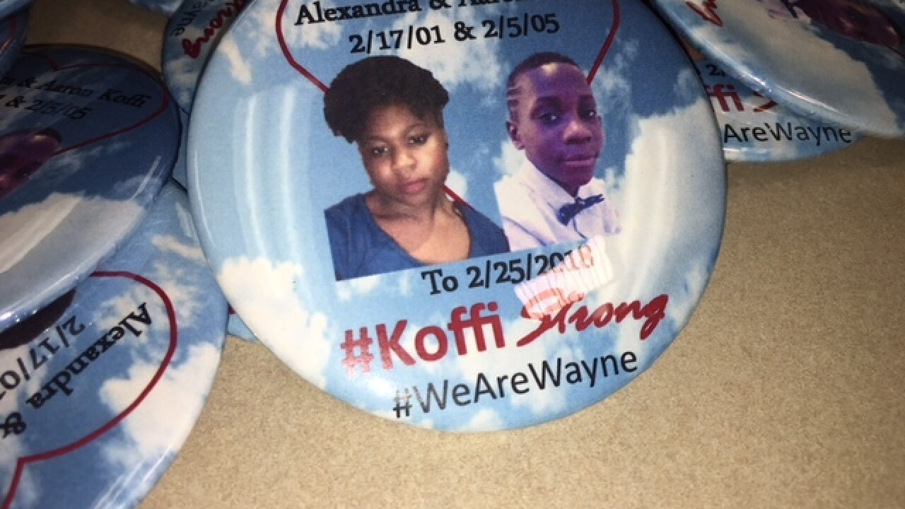 $5 buttons to help cover teens' funeral expenses