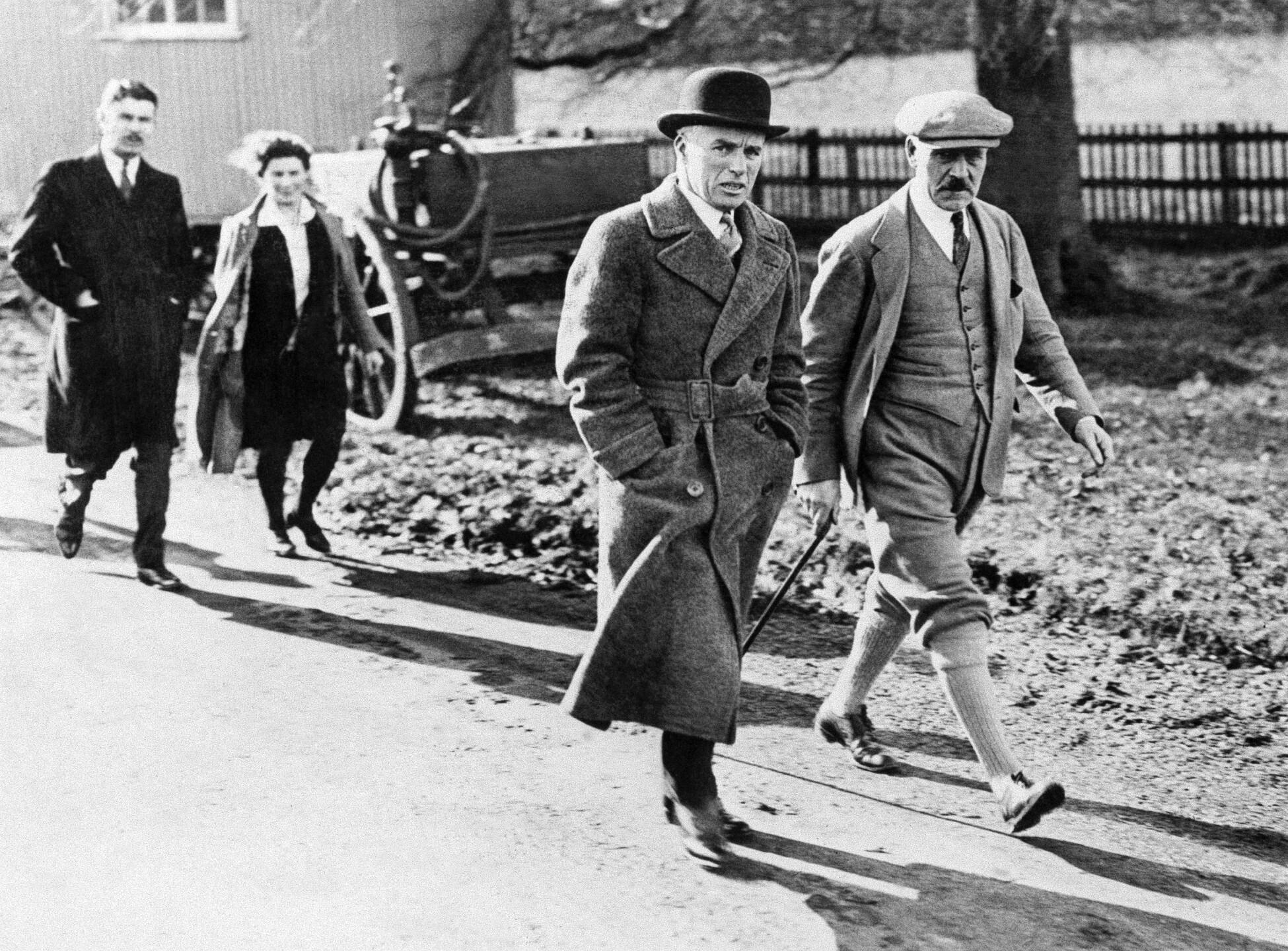 Charlie Chaplin, Ramsay MacDonald