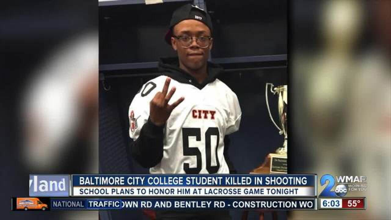 City High School to honor slain student athlete