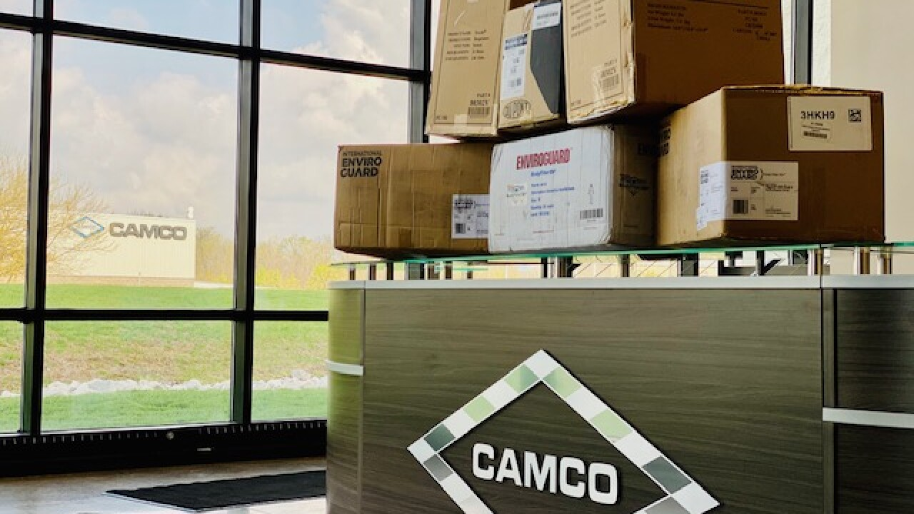 Camco donation for fire deptartment