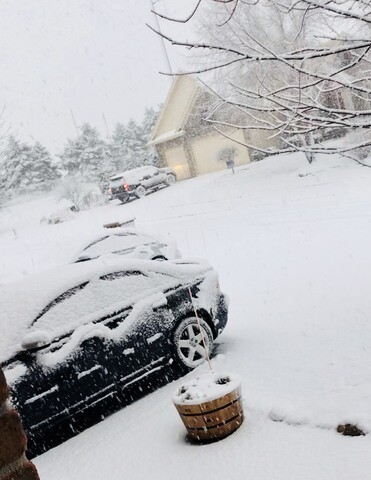 GALLERY: Snowy conditions throughout the Omaha-metro area
