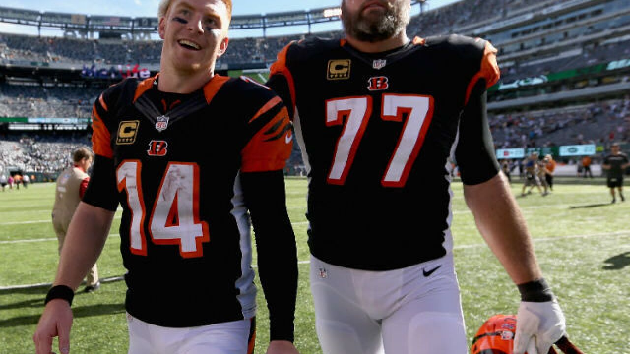 the best attitude 65f9d 91f82 Andrew Whitworth wants to stay with Bengals on one condition