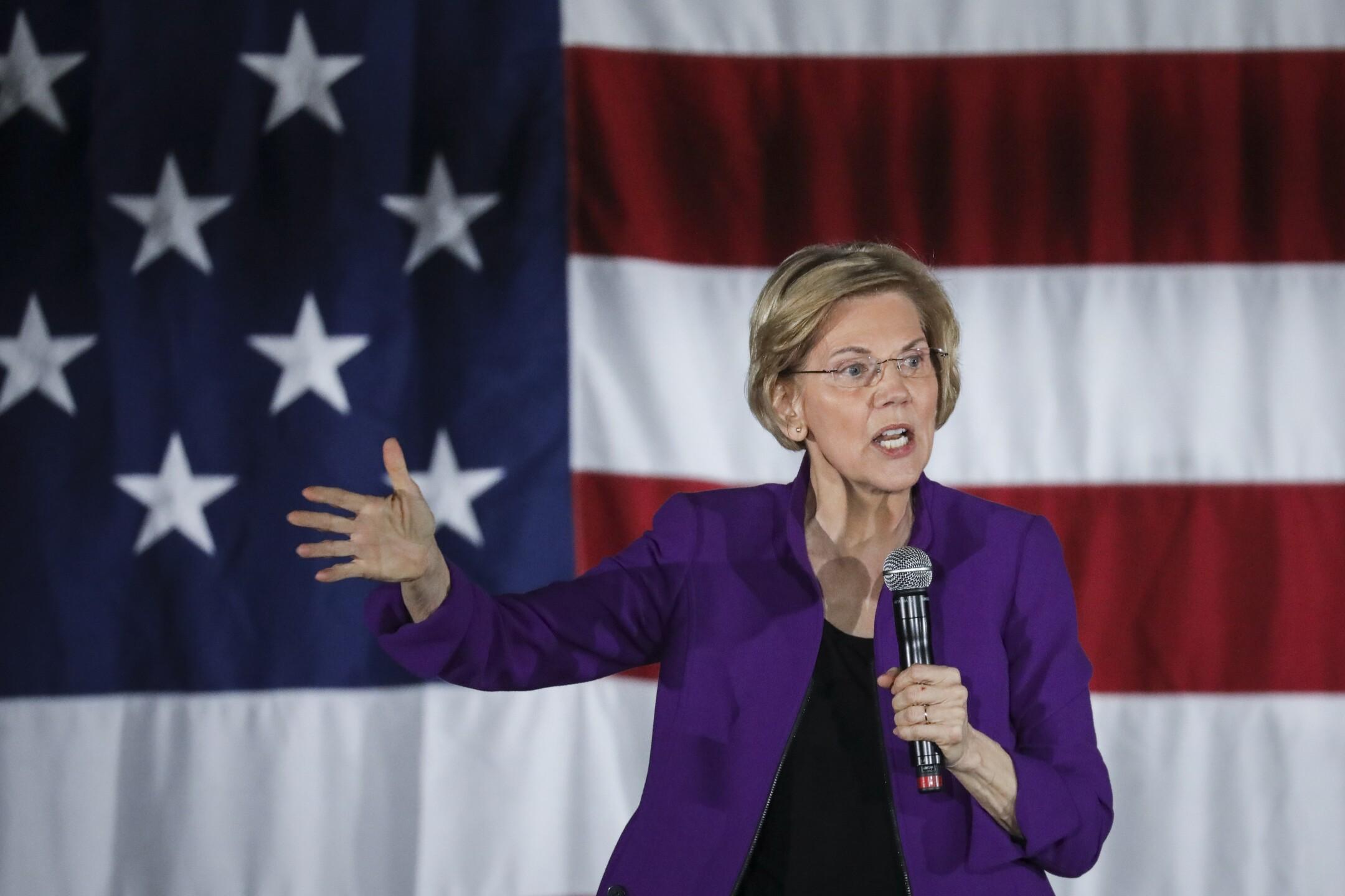 Elizabeth Warren is a senator in Massachusetts who formally announced her 2020 presidential bid on Feb. 9, 2019.
