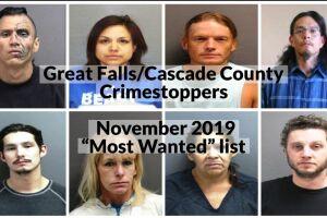 """November 2019 """"Most Wanted"""""""
