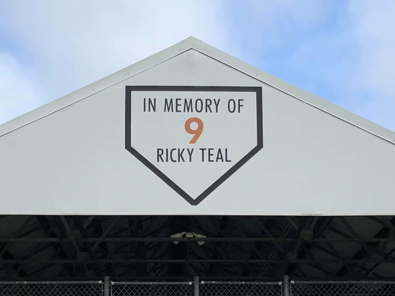 ricky teal memorial
