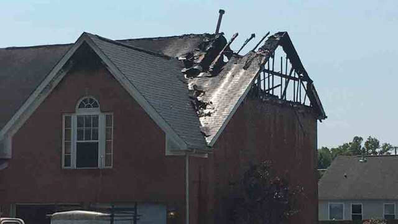 2 Displaced After Fire On Gilmore Crossing Lane