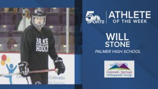 KOAA Athlete of the Week: Palmer's Will Stone