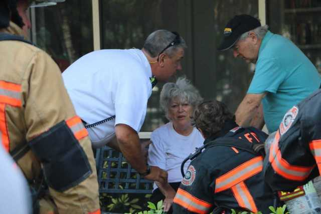 Photos: Residents evacuated in Fort Myers Beach condo fire