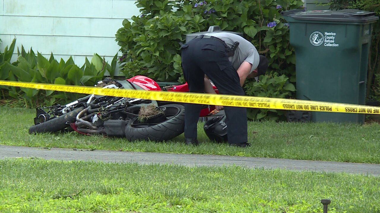 Police: Motorcyclist arrested after hitting child riding bike was evading police