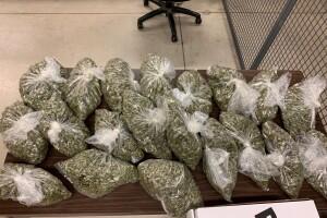 OBN seizes California-grown marijuana
