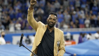 Calvin Johnson Hall of Fame ring ceremony