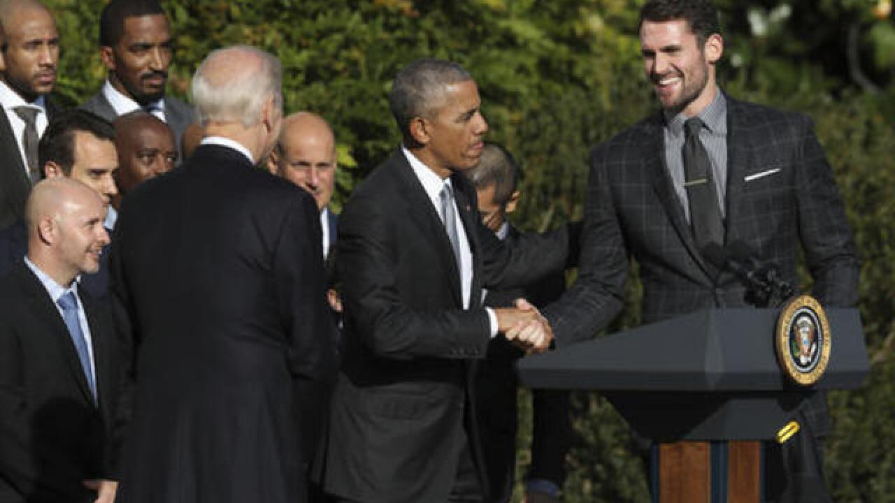 Obama honors NBA champion Cleveland Cavaliers