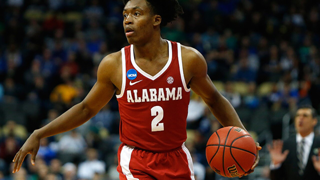 Cleveland Cavaliers sign Alabama's Collin Sexton