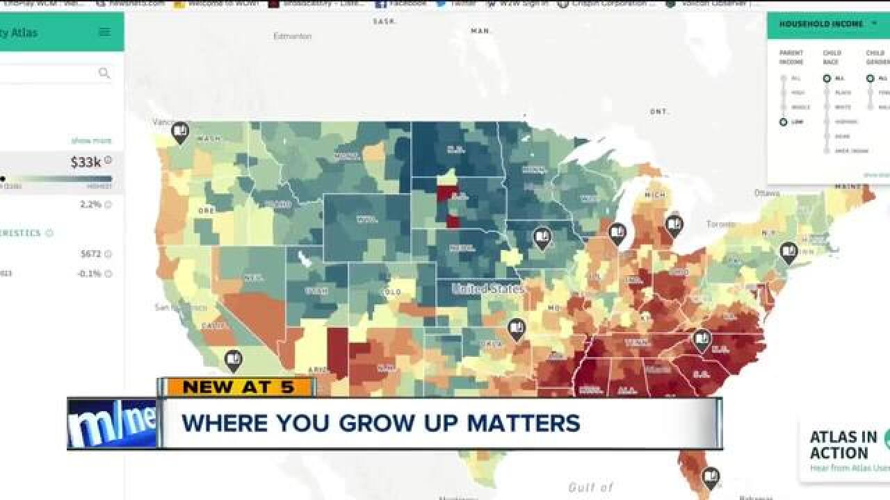 Interactive map: How much does your zip code determine where you end up in life?