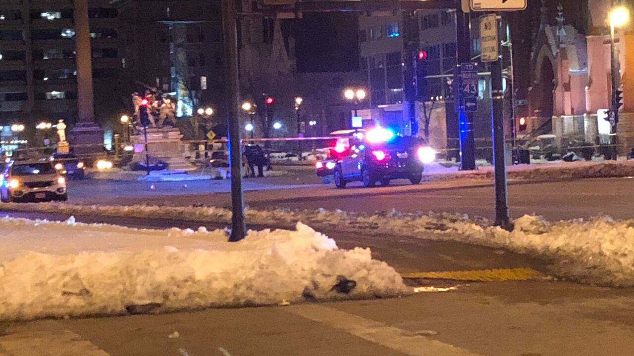 One person struck by vehicle near 10th & Wisconsin