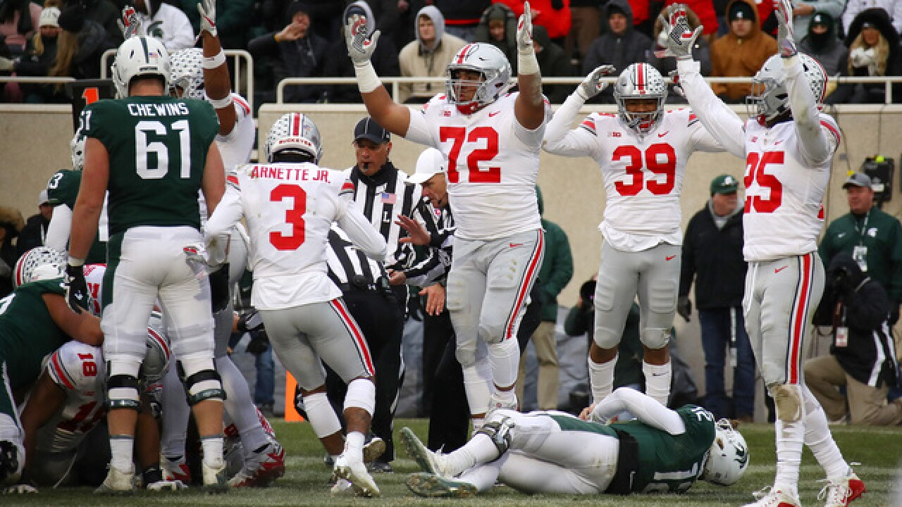 Michigan State hurt by miscues in loss to Ohio State